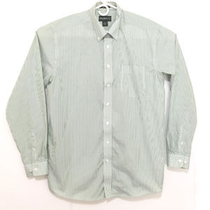 Eddie Bauer Men's Large Long Sleeve Button Up Fit